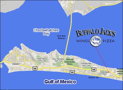 buffalo jack s legendary wings map